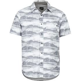 Marmot Syrocco SS Shirt Herren white mountains